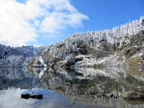 Went looking for fall colors but ended up enjoying an early dusting of snow in the Alpine Lakes Wilderness