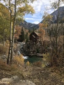 Went on a hike The famous Crystal Mill outside Marble Colorado