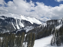 Went skiing at Taos this weekend for my colleges first ski trip I got some pretty spectacular views at ones of the peaks