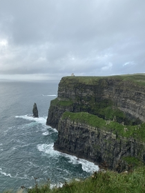 Went to Ireland and saw the Cliffs of Moher for the first time last weekend