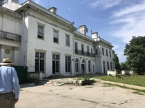 Went to the Horace Trumbauer mansion thats being knocked down The grounds were designed by Olmstead