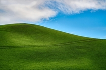 Were getting very Windows XP up in these California hills