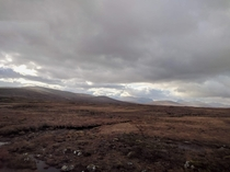 West Highlands of Scotland near Rannoch Moor - absolutely unreal landscape