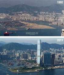 West Kowloon then and now