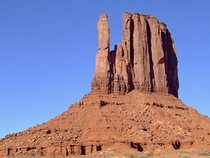 West Mitten Butte viewed from the Wildcat Trail Monument Valley Navajo Tribal Park Arizona