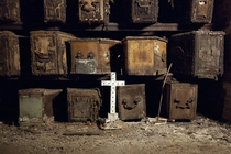 West Norwood Victorian Cemetery Catacombs London England