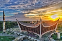 West Sumatera Main Mosque Indonesia