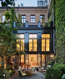 West Village Townhouse Morton Street New York by Robert AM Stern Architect
