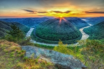 West Virgina Sunset by Mike Bown