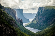 Western Brook Pond Fjord Gros Morne National Park by Newfoundland and Labrador Tourism