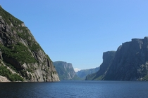Western Brook Pond Fjord - Gros Morne National Park Newfoundland and Labrador