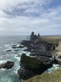 western cliffs of iceland