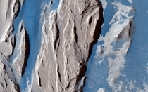 Western Medusa Fossae Formation on Mars