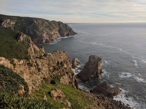 Western most point of continental Europe - Cabo de Roca Portugal  x