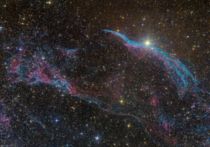 Western Veil Nebula and Pickerings Triangle
