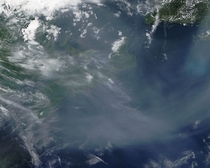 Western Wildfire Smoke Has Drifted Over the Atlantic