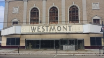 Westmont Theater Westmont NJ complete with a piano in the lobby