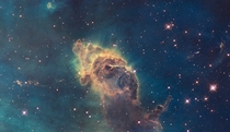 WFC visible image of the Carina Nebula