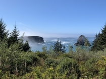 Whaleshead Rock on the Southern Oregon Coast