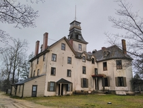 Whartons mansion in the new jersey pine barrens
