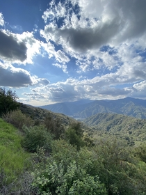 What a beautiful drive in Southern Californias Glendora Mountains OC  x