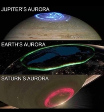What an aurora looks like on other planets