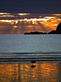 What I call home - sunset at Port Erin Isle of Man
