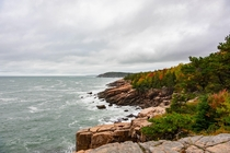 What is it about New England autumn foliage that invigorates the senses Photo taken on October  Acadia National Park