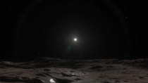 What Standing On Dwarf Planet Eris Might Look Like
