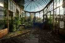 What was once a magnificent greenhouse has now falling into disrepair Photo by MGness