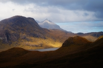 When I shot this photo I had the Lord Of The Rings theme music incessantly playing in my head I wonder why Camasunary Isle of Skye Scotland