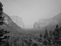 When I visited Yosemite  years ago I was very dissapointed by the smoke from the fires blocking the views Locking back some of the pictures still turned out quite good