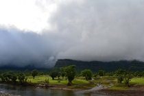 When monsoon visits Bhandardara India