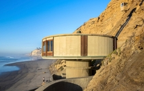 When your mansion on top of the cliff isnt big enough so you build a party room at the bottom of the cliff Blacks Beach San Diego CA Photo by Darren Bradley  x
