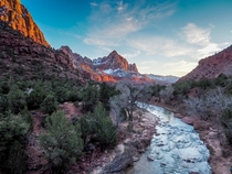 When Zion National Park turns into a painting Utah