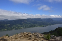 Where Angels Rest a favorite place to contemplate - Columbia River Gorge Oregon