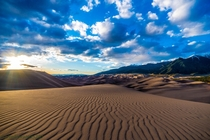 Where beauty meets bizarre The Great Sand Dunes of Colorado