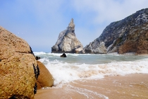 Where I proposed to my girlfriend Praia da Ursa Portugal