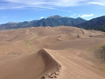 Where man himself is a visitor who does not remain - Great Sand Dunes National Park CO