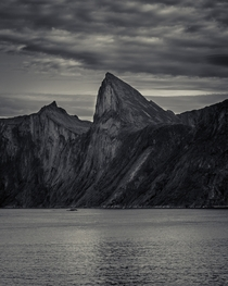 Where sharp mountains meets the sea - Senja Norway
