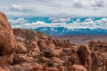 Where the desert meets the mountains Fiery Furnace UT