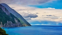 Where the mountains meet the water Qingshui cliffs - Hualien Taiwan x