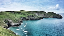 While hiking today near Tintagel Cornwall