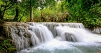While it isnt Plitvie - Croatia Laos boasts some stunning waterfalls in this tropical paradise - Tad Sae Falls