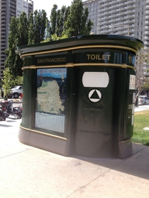 While San Francisco has a bad reputation for public defecation the city does have some really nice public bathrooms