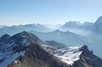 While were on the topic of mountains Schilthorn Switzerland Taken by me