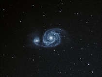 Whirlpool Galaxy  Light Subs  sec ISO