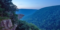 Whitaker Point in the Ozark Mountains