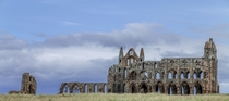 Whitby Abbey England  by Geoff Threadgill