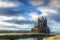 Whitby Abbey North Yorkshire England UK - Destroyed - under the Dissolution of the Monasteries